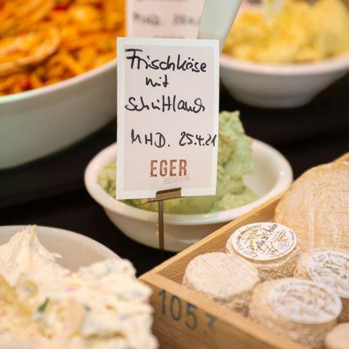 Käsespezialitäten aus unserer Feinkost-Metzgerei